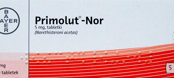 Ulotka leku opóźniającego miesiączkę Primolut-Nor